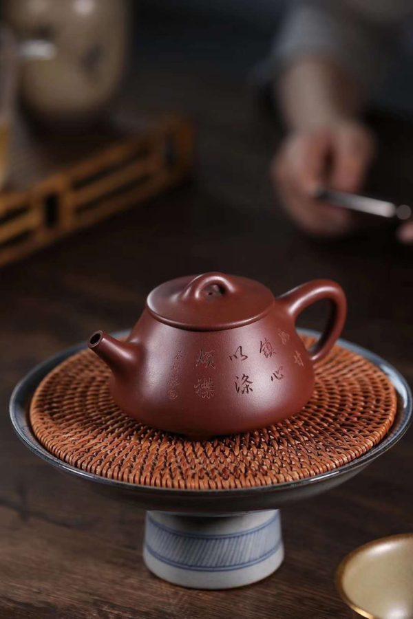 JingZhou Stone Gourd Ladle Teapot