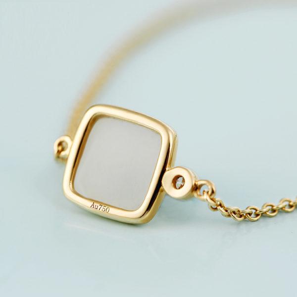 Hotan Jade Tower Bracelet