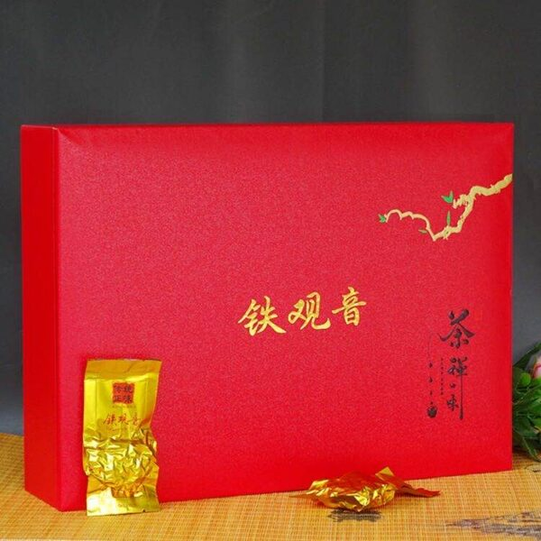 Tieguanyin Tea Box (Red)