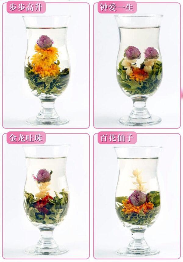 20 Beautiful Artistic Jasmine Blooming TeaTea