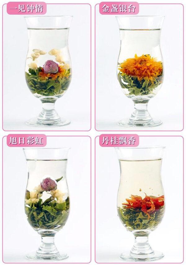 20 Beautiful Artistic Jasmine Blooming Tea Tea